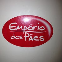 Photo taken at Empório dos Pães by Nil B. on 2/25/2013