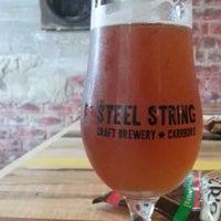 Photo taken at Steel String Brewery by Matt T. on 5/10/2013