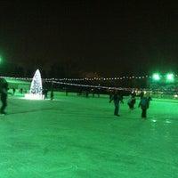 Photo taken at Каток «Новая лига» by Valentina M. on 12/21/2012