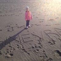 Photo taken at Spiaggia Stella Polare by Alessandro C. on 3/29/2014