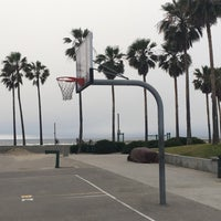 Photo taken at Venice Beach Basketball Courts by Achim H. on 4/18/2017