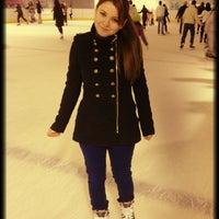 Photo taken at Skating Rink Mladost by Zuzi O. on 1/20/2013