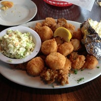 Photo taken at Uncle Bubba's Oyster House by Paul M. on 4/12/2013