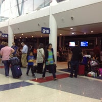 Photo taken at Gate G16 by KaeLyn R. on 8/23/2013