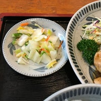 Photo taken at あわや食堂 by ヴィーネ on 12/19/2017