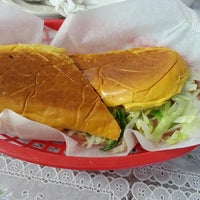 Photo taken at West Tampa Sandwich Shop by Mos S. on 4/6/2013