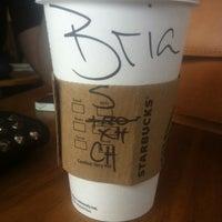 Photo taken at Starbucks by Bria J. on 2/19/2014
