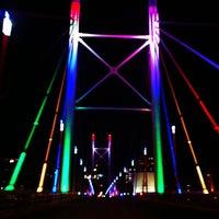 Снимок сделан в Nelson Mandela Bridge пользователем Reshma D. 12/22/2012