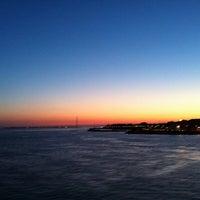 Photo taken at Porto di Villa San Giovanni by Sudha C. on 6/15/2013