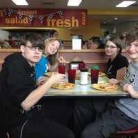 Photo taken at Cicis by Brian K. on 11/3/2012
