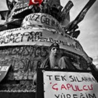 Photo taken at Taksim square by Hayat O. on 6/17/2013