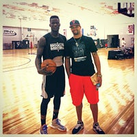 Photo taken at Brooklyn Nets practice facility by Yves D. on 6/13/2013
