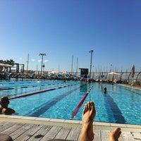 Photo taken at Gordon Swimming Pool by Assaf H. on 11/30/2012