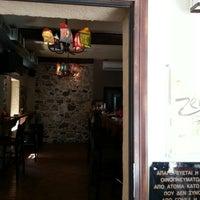 Снимок сделан в Zero Cafe Bar пользователем Pantelis P. 8/1/2013
