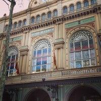 3/25/2013 tarihinde Filipe R.ziyaretçi tarafından Liceu Opera Barcelona'de çekilen fotoğraf