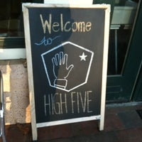 Photo taken at High Five Coffee Bar by Will G. on 1/4/2013