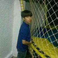 Photo taken at Parquinho Do Forum by Livia C. on 12/26/2012