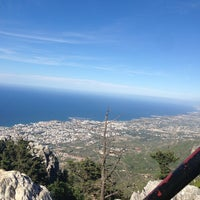 Photo taken at Saint Hilarion Castle by Bekir E. on 5/28/2013