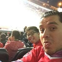 Photo taken at Estadio Morelos VIP by Juanki C. on 1/10/2015