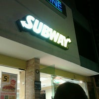 Photo taken at Subway by Larissa S. on 4/26/2013
