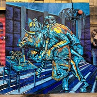 Photo taken at 5 Pointz by Steven M. on 12/2/2012