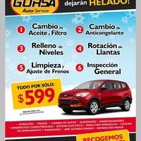 Photo taken at Gorsa Auto Service - Queretaro by Sergio O. on 4/3/2013