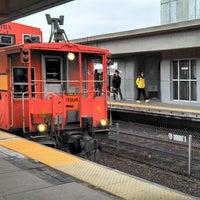 Photo taken at MBTA Malden Center Station by A.P. Blake on 4/10/2013