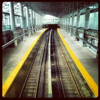 Photo taken at MBTA Ashmont/Peabody Square Station by A.P. Blake on 8/3/2013