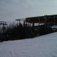 Photo taken at North Peak Lodge by A.P. Blake on 2/1/2014