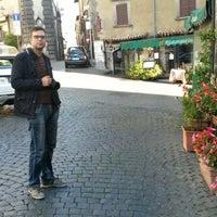 Photo taken at Trattoria Del Castello by Anastasiya Z. on 10/30/2014