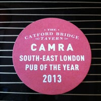 Photo taken at Catford Bridge Tavern by Tom Q. on 5/26/2013