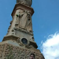 Photo taken at Monument a l'àngel by Albert M. on 5/3/2014