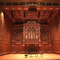 Photo taken at New England Conservatory's Jordan Hall by Lore N. on 11/5/2017