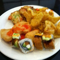 Photo taken at Asian Fusion Buffet by Heather D. on 2/9/2013