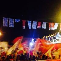 Photo taken at Ortaköy Meydanı by Deniz D. on 3/18/2014