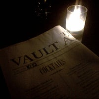 Photo taken at The Vault at Pfaff's by Rachel on 5/17/2013
