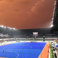 Photo taken at Stadium Hoki Nasional by Diyana I. on 8/29/2017