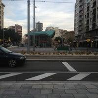 Photo taken at Estación de Goya by Jose Antonio A. on 12/20/2012