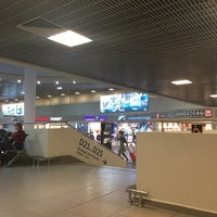 Photo taken at Pulkovo International Airport (LED) by Sveta A. on 11/28/2017