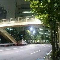 Photo taken at 芝二丁目・四丁目歩道橋 by ぞひ 田. on 11/10/2016