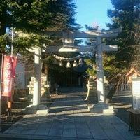 Photo taken at 草加神社 by ぞひ 田. on 12/29/2016