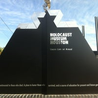 Photo taken at Holocaust Museum Houston by Dwight L. on 12/24/2012