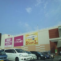 Photo taken at AEON Mall by Makiko S. on 8/17/2013