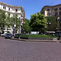 Photo taken at Piazza Luigi Vanvitelli by Roberto M. on 5/3/2013