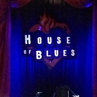 Photo taken at House of Blues by Ashley B. on 1/3/2013