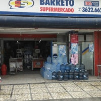 Photo taken at Supermercado Barreto by THIAGO M. on 4/26/2013