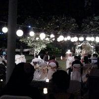 Photo taken at Kasa Bunga Garden Restaurant by Yosephin P. on 6/15/2013