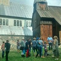 Photo taken at Ruhnu Püha Magdaleena kirik by Ain A. on 9/10/2016