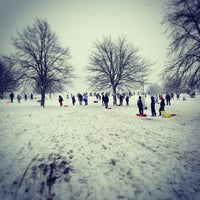 Photo taken at Blythe Hill Fields by Andy M. on 1/20/2013