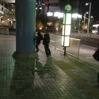Photo taken at 品川駅港南口バスターミナル by Almon S. on 1/2/2013
